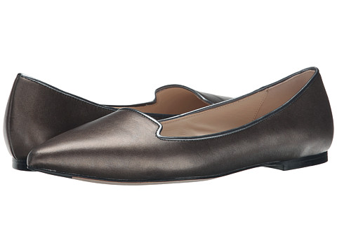 Cole Haan - Lockhart Skimmer (Dark Silver Metallic) Women's Dress Flat Shoes