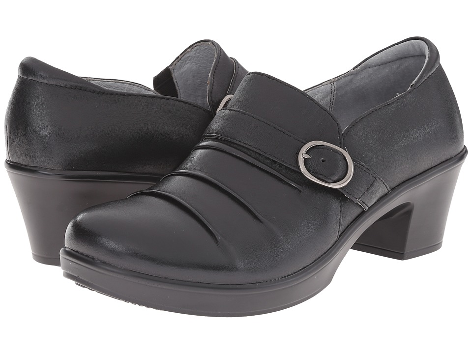 Alegria - Halli (Black Nappa) Women's Slip on Shoes