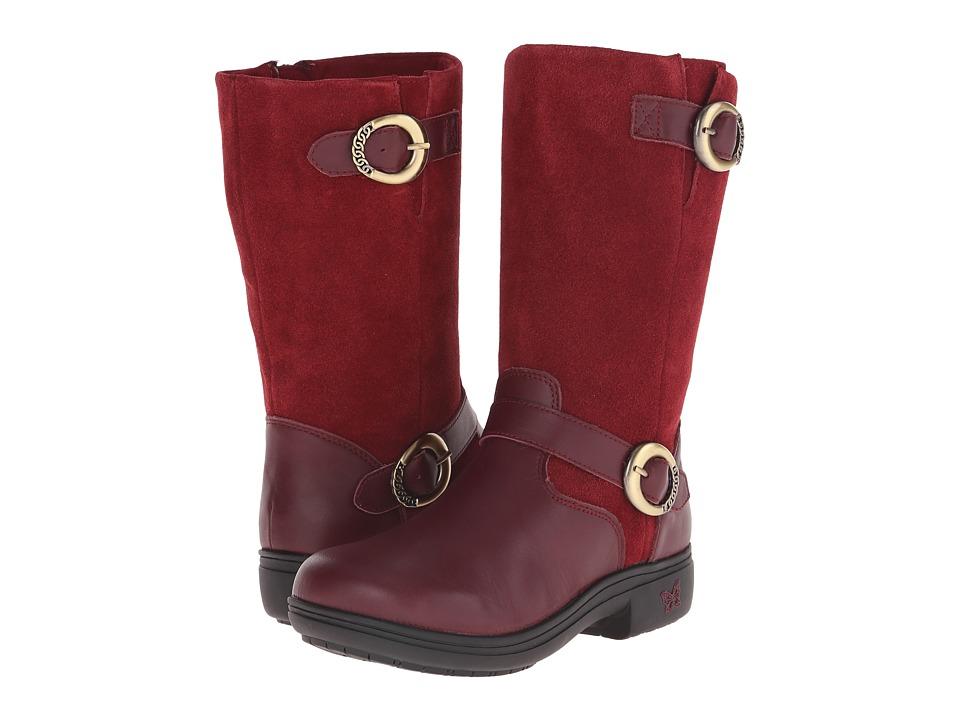 Alegria - Kris (Burgundy) Women's Boots