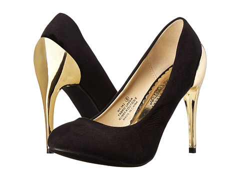 Charles Albert - NY-343 (Black) High Heels
