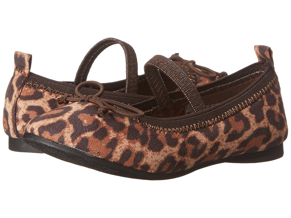 Kenneth Cole Reaction Kids - Copy Tap 2 (Toddler/Little Kid) (Leopard 2) Girls Shoes