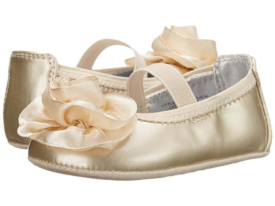 Kenneth Cole Reaction Kids - NY Baby Little Bit of Luck (Infant/Toddler) (Light Gold) Girl's Shoes