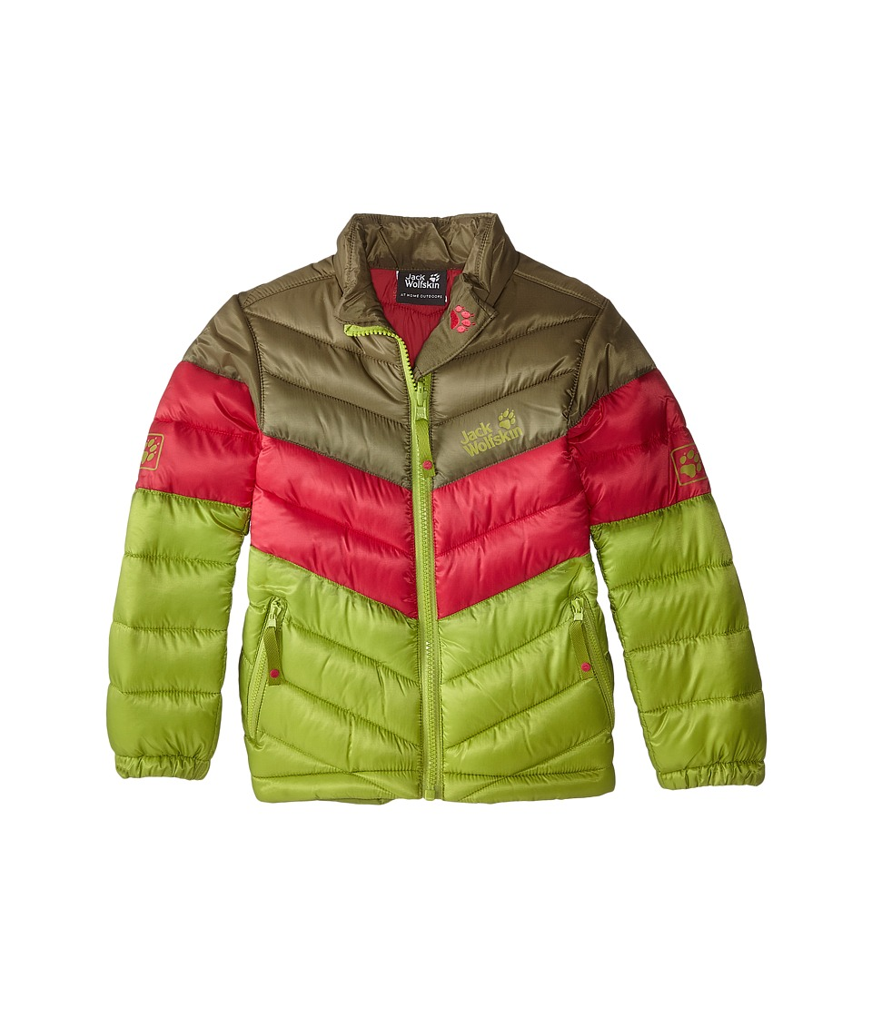 Jack Wolfskin Kids - Icecamp Jacket (Infant/Toddler/Little Kid/Big Kid) (Earl Green) Kid's Coat