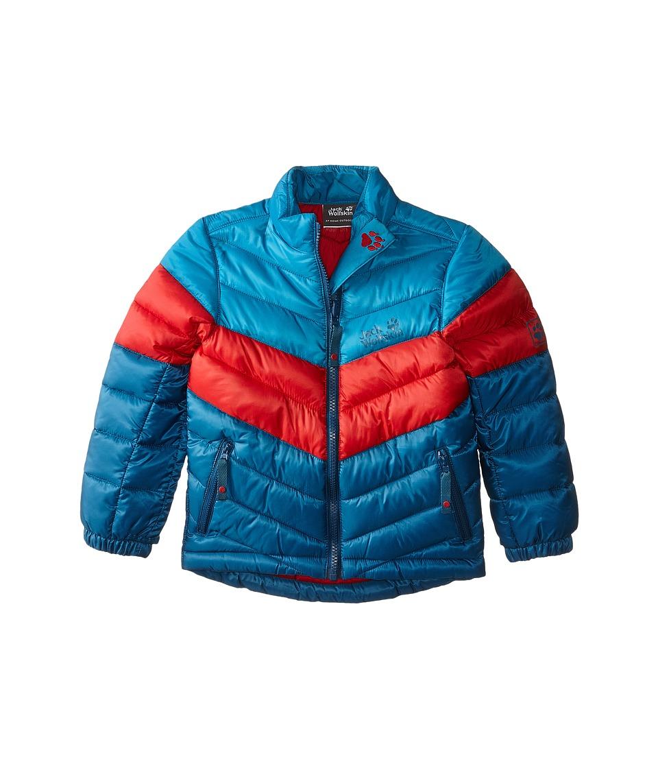 Jack Wolfskin Kids - Icecamp Jacket (Infant/Toddler/Little Kid/Big Kid) (Moroccan Blue) Kid's Coat