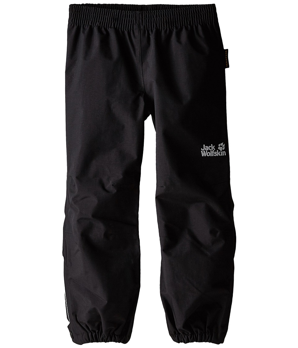 Jack Wolfskin Kids - Rain Pants (Infant/Toddler/Little Kid/Big Kid) (Black) Kid's Casual Pants