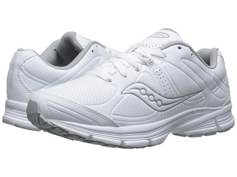Saucony - Grid Momentum (White/Grey) Women's Shoes