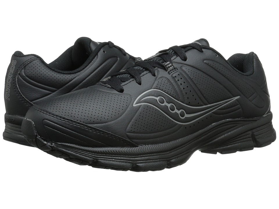 Saucony - Grid Momentum (Black) Men's Shoes