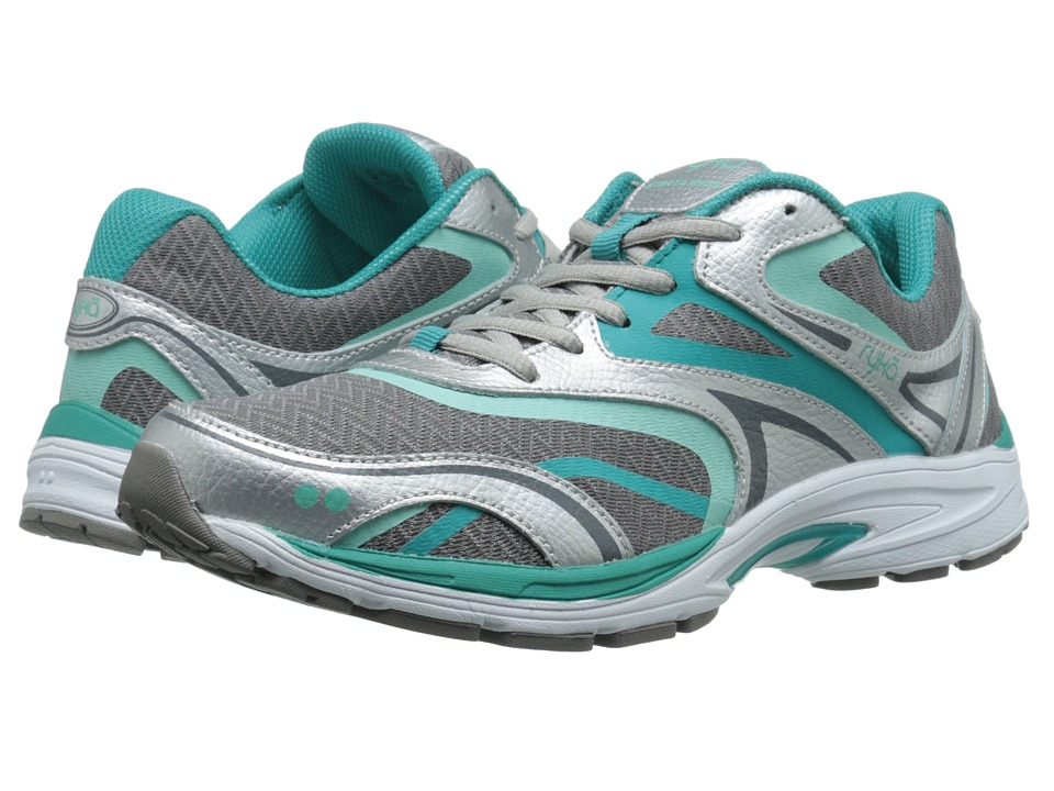Ryka Strata Walk (Forst Grey/Beach Glass/Teal Blast/Chrome Sliver) Women