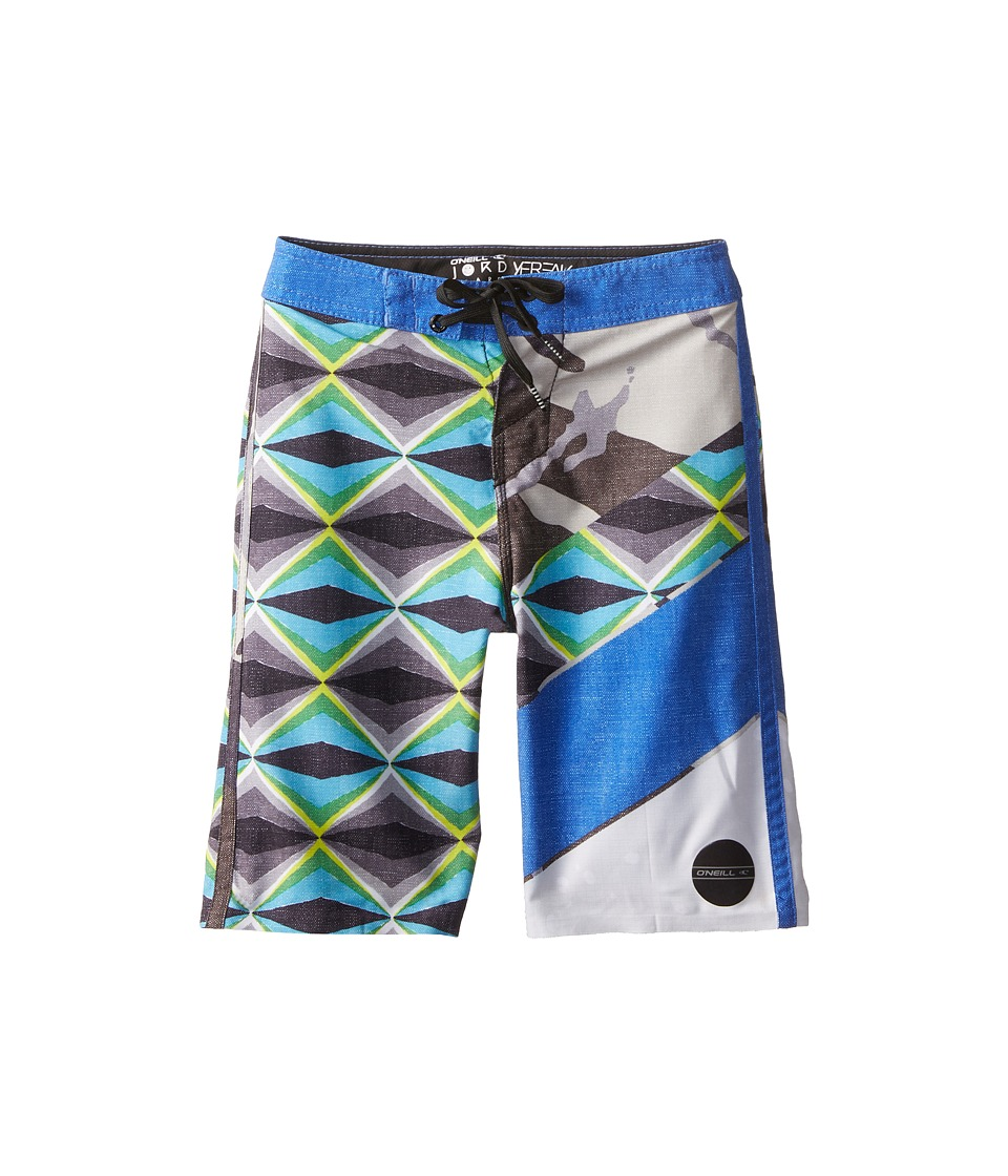 O'Neill Kids - Jordy Freakout (Big Kids) (Blue) Boy's Swimwear