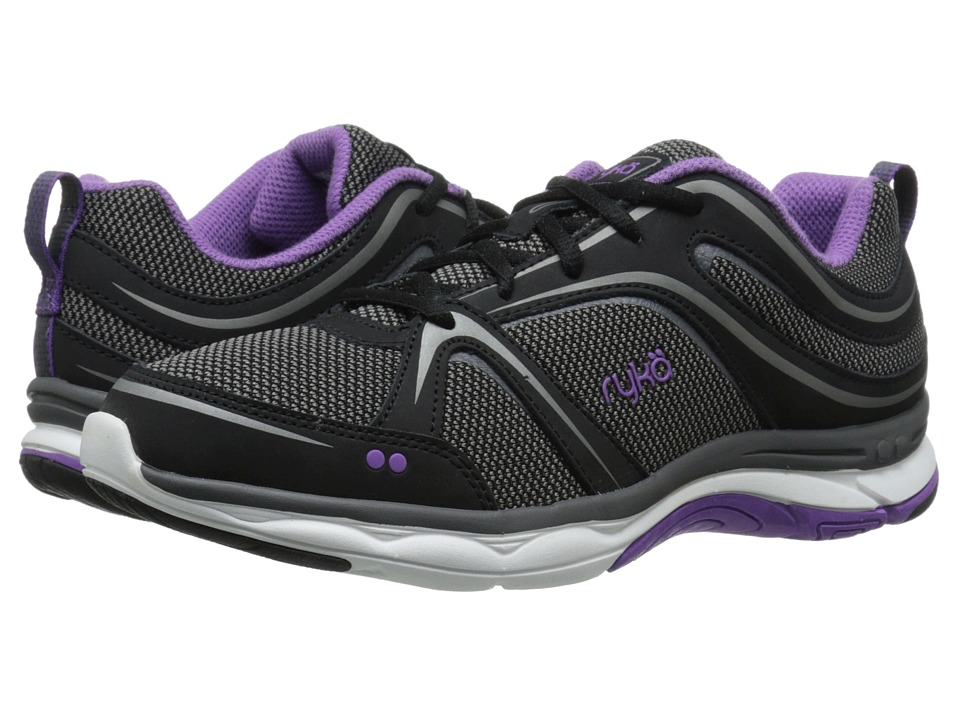 Ryka - Shift (Black/Deep Lilac/Iron Grey/Metallic Steel Grey/Frost Grey) Women's Shoes