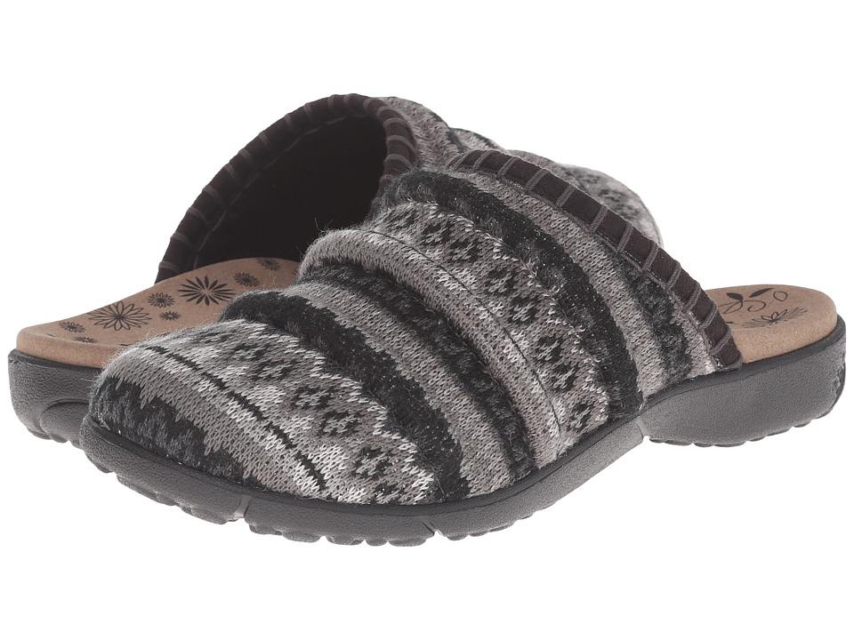 taos Footwear - Knitwit (Black Multi) Women's Clog Shoes