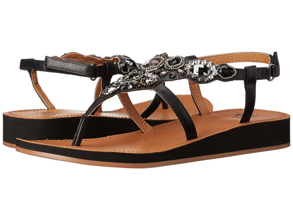 Yellow Box - Grapefruit (Black) Women's Sandals