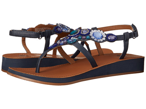 Yellow Box - Grapefruit (Blue) Women's Sandals