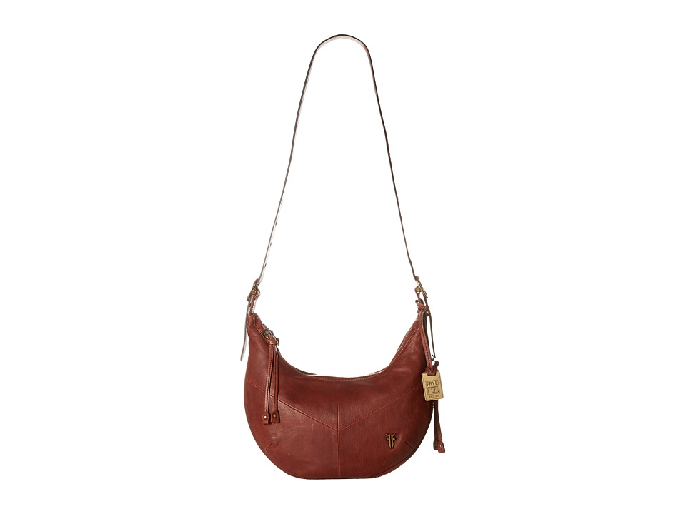 Frye - Belle Bohemian Crossbody (Whiskey Oiled Vintage Full Grain) Cross Body Handbags