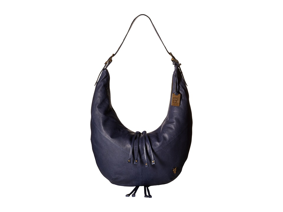 Frye - Belle Bohemian Hobo (Indigo Oiled Vintage Full Grain) Hobo Handbags