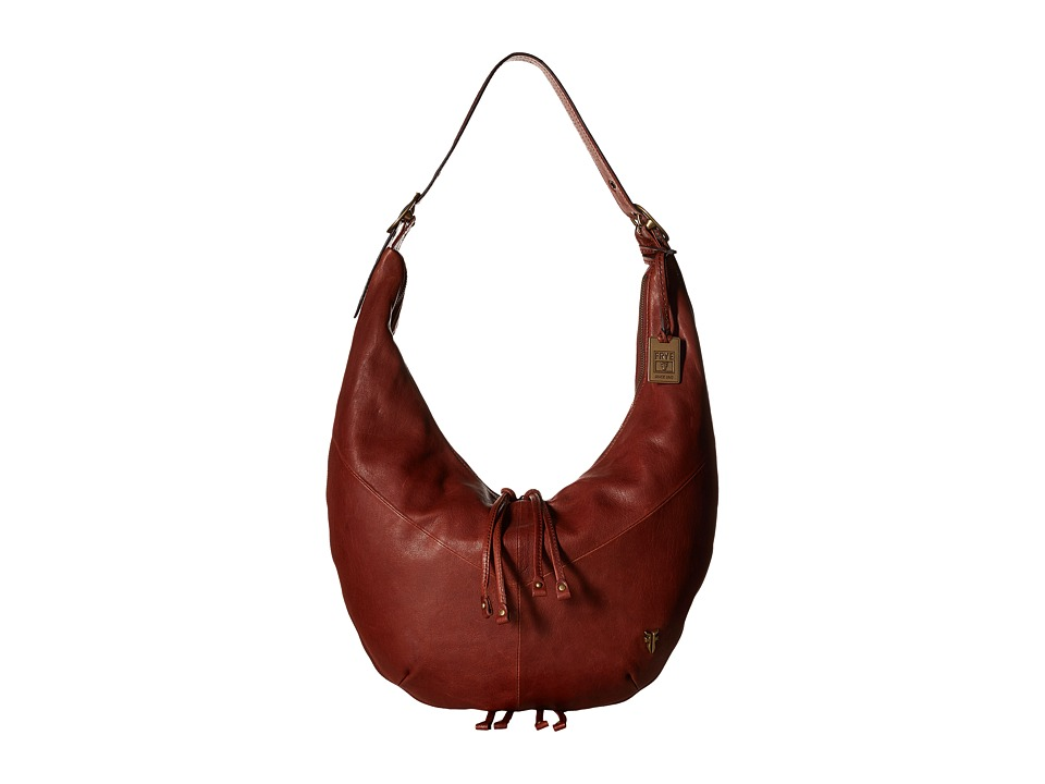 Frye - Belle Bohemian Hobo (Whiskey Oiled Vintage Full Grain) Hobo Handbags