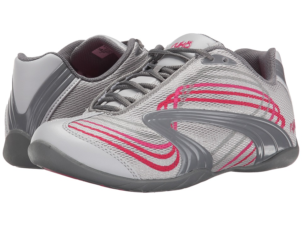 Ryka - Studio D (Cool Mist Grey/Frost Grey/Ryka Pink/Hot Pink) Women's Shoes
