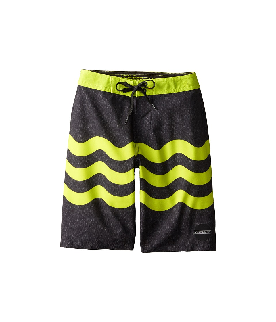 O'Neill Kids - Freak Fourteen (Big Kids) (Black) Boy's Swimwear