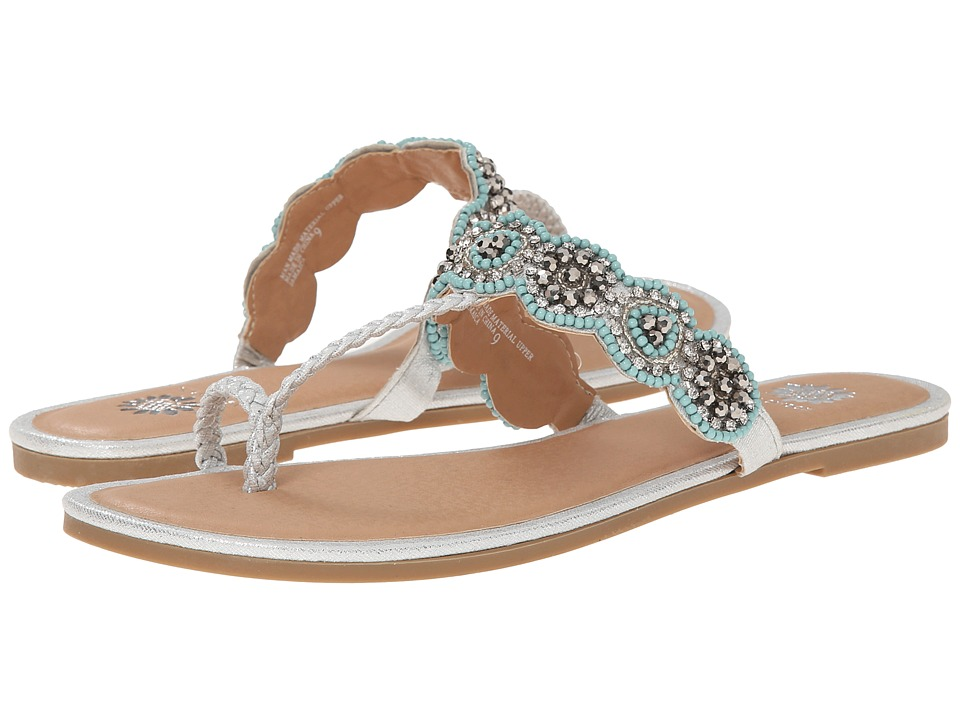 Yellow Box - Jamaica (Silver) Women's Sandals