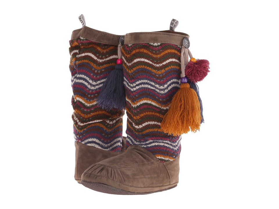 MUK LUKS - Rachel Tassel Boot (Brown) Women