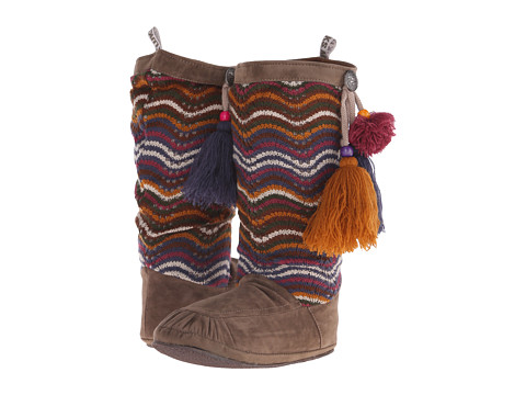 MUK LUKS - Rachel Tassel Boot (Brown) Women's Boots