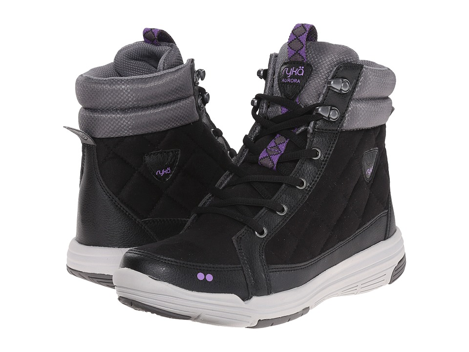 Ryka - Aurora (Black/Steel Grey/Deep Lilac/Vapor Grey/Meteroite) Women's Shoes