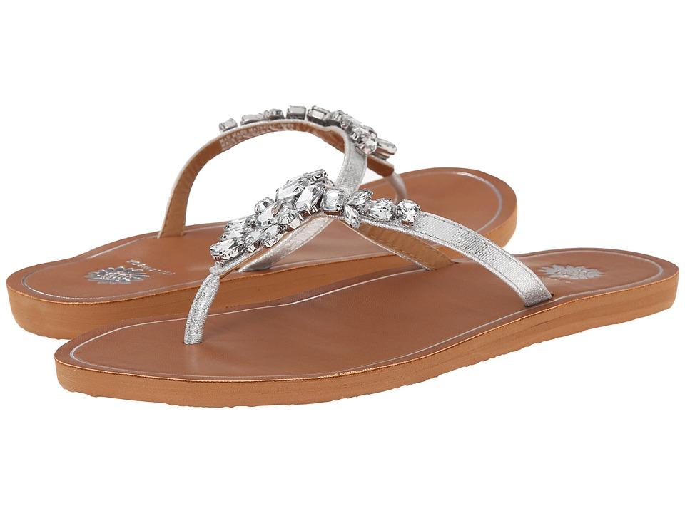 Yellow Box - Noella (Silver) Women's Sandals