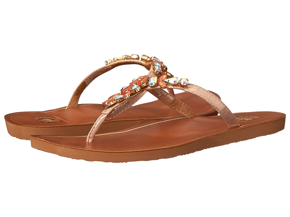 Yellow Box - Noella (Coral) Women's Sandals