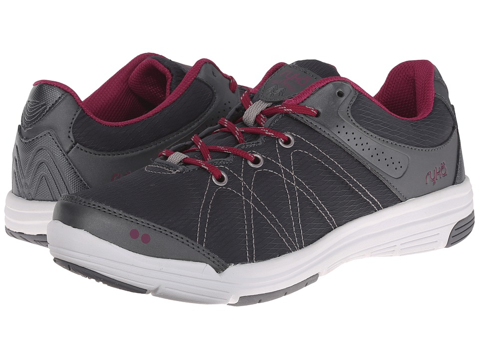 Ryka - Summit (Metallic Iron Grey/Iron Grey/Raspberry Radiance/Forge Grey) Women's Shoes