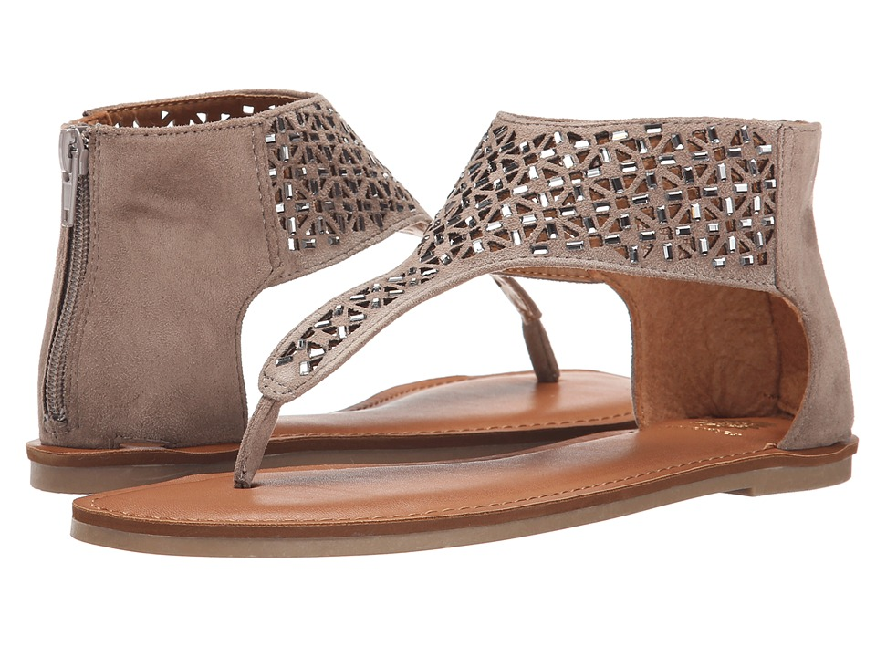 Yellow Box - Sagittarius (Taupe) Women's Sandals