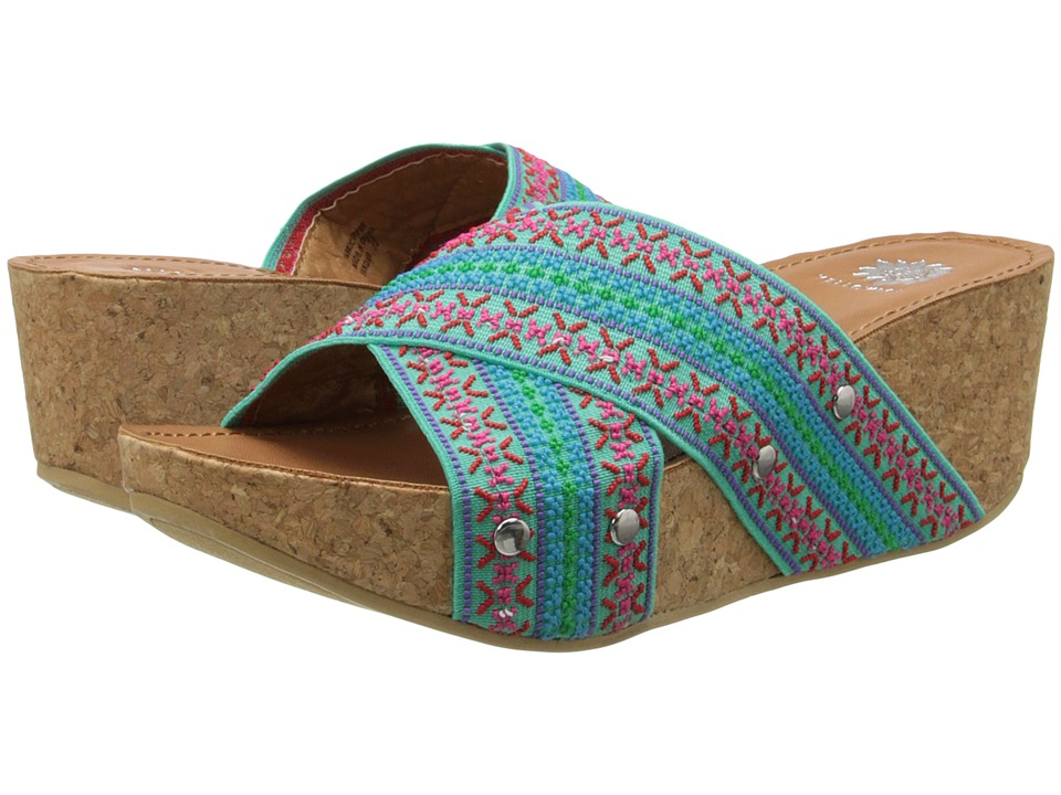 Yellow Box - Sundrie (Turquoise) Women's Sandals