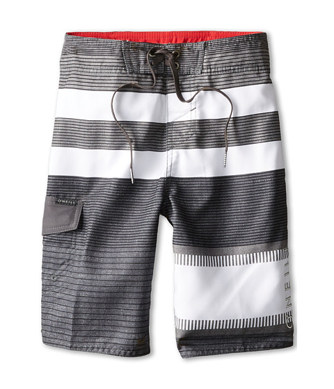 O'Neill Kids - Lennox (Big Kids) (Asphalt) Boy's Swimwear