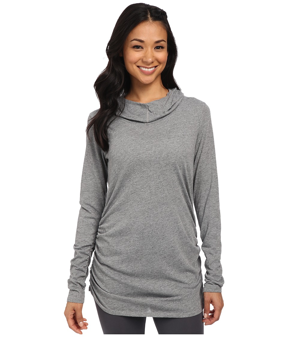Lucy - Raise The Bar Long Sleeve Top (Sleet Grey Heather) Women's Long Sleeve Pullover