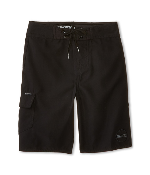 O'Neill Kids - Santa Cruz Solid (Big Kids) (Black) Boy's Swimwear