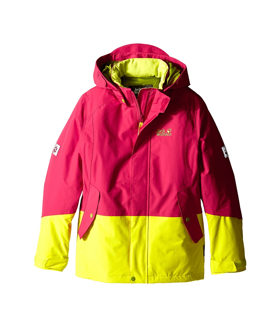 Jack Wolfskin Kids - Snow Ride Texapore Insulated (Infant/Toddler/Little Kid/Big Kid) (Pale Berry) Girl's Coat