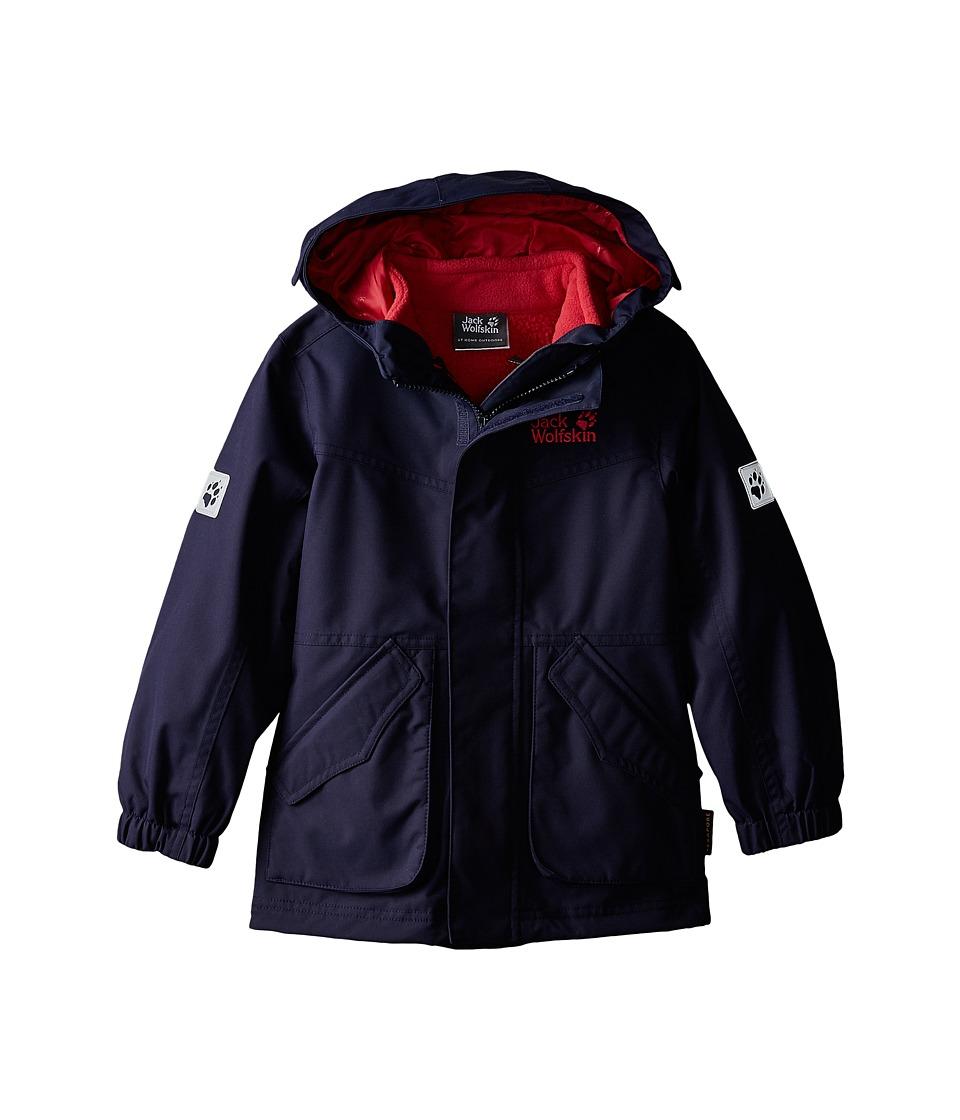 Jack Wolfskin Kids - Snowpark Jacket (Infant/Toddler/Little Kid/Big Kid) (Evening Blue) Girl's Coat