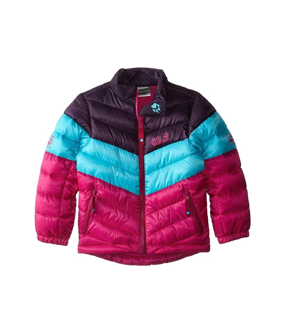 Jack Wolfskin Kids - Icecamp Jacket (Infant/Toddler/Little Kid/Big Kid) (Dark Magenta) Girl's Coat