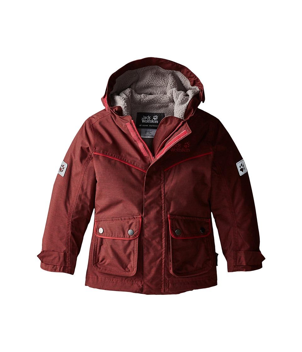 Jack Wolfskin Kids - Nova Scotia Texapore Insulated Jacket (Infant/Toddler/Little Kid/Big Kid) (Pale Berry) Girl's Coat