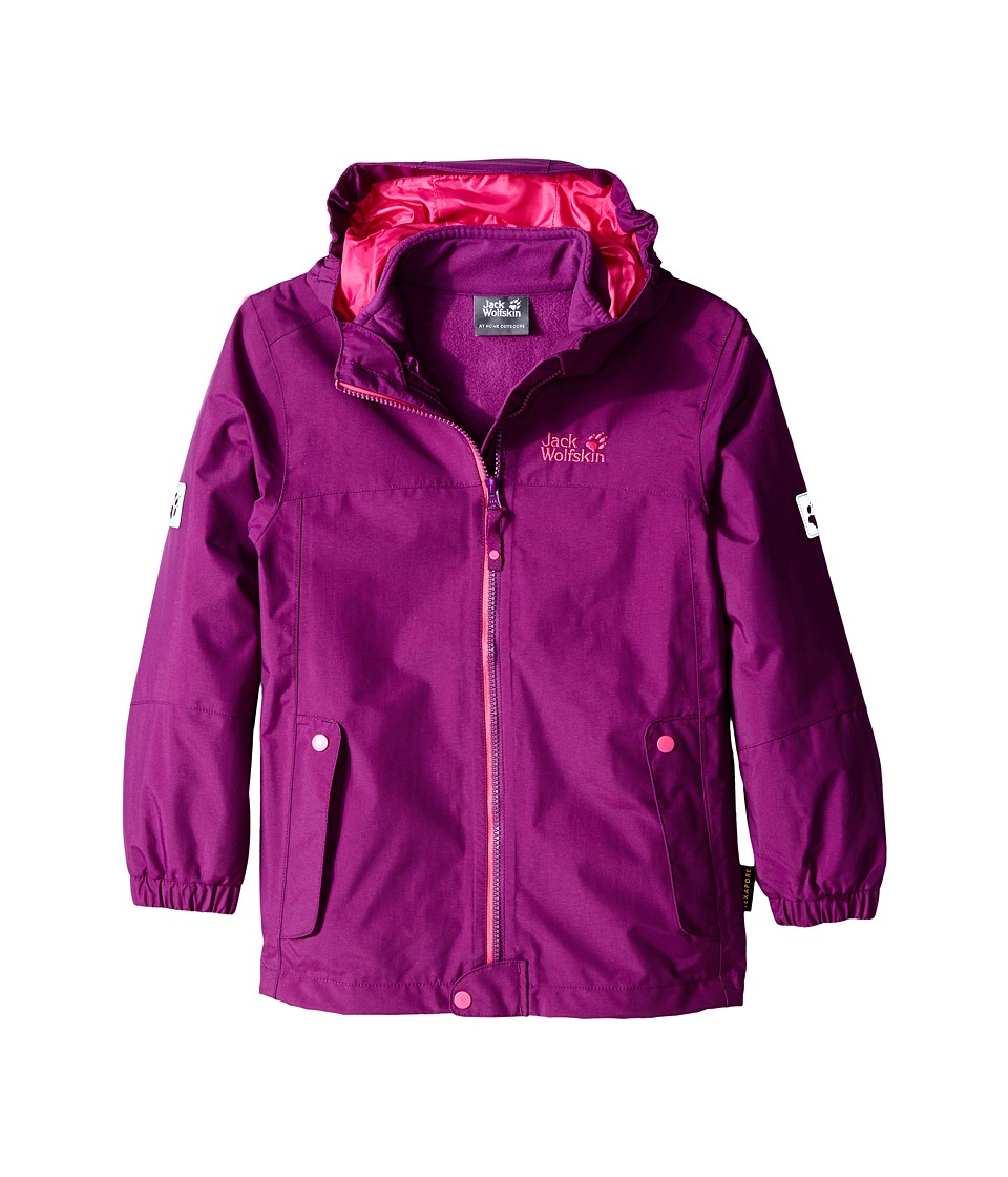 Jack Wolfskin Kids - Iceland 3-in-1 Jacket (Infant/Toddler/Little Kid/Big Kid) (Mallow Purple) Girl's Coat