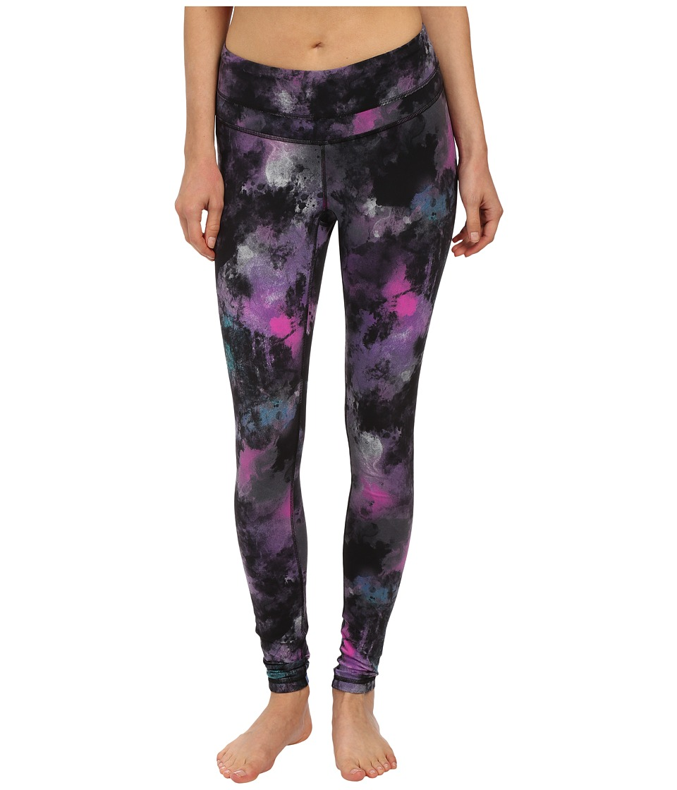 Lucy - Studio Hatha Legging (Northern Lights Print) Women