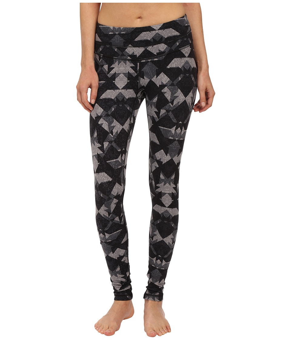 Lucy - Studio Hatha Legging (Lucy Black Geode Print) Women's Workout