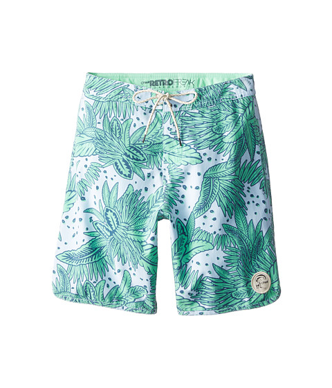 O'Neill Kids - Santa Cruz Original Scallop Print (Big Kids) (Sky Blue) Boy's Swimwear