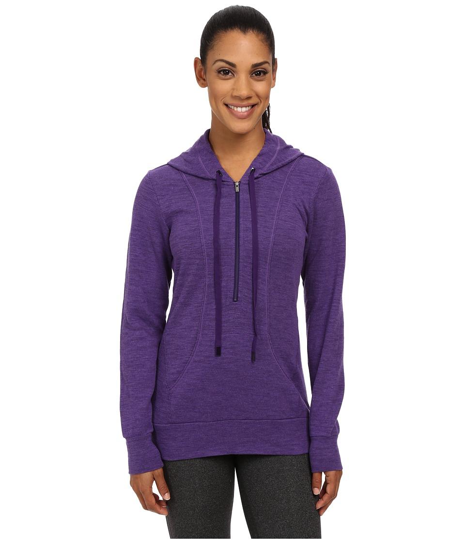Lucy - Sexy Sweat Half Zip (Royal Purple Heather) Women