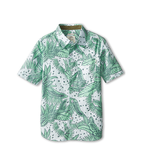 O'Neill Kids - Galapogos Short Sleeve Woven Shirt (Little Kids) (Sky Blue) Boy's Short Sleeve Button Up