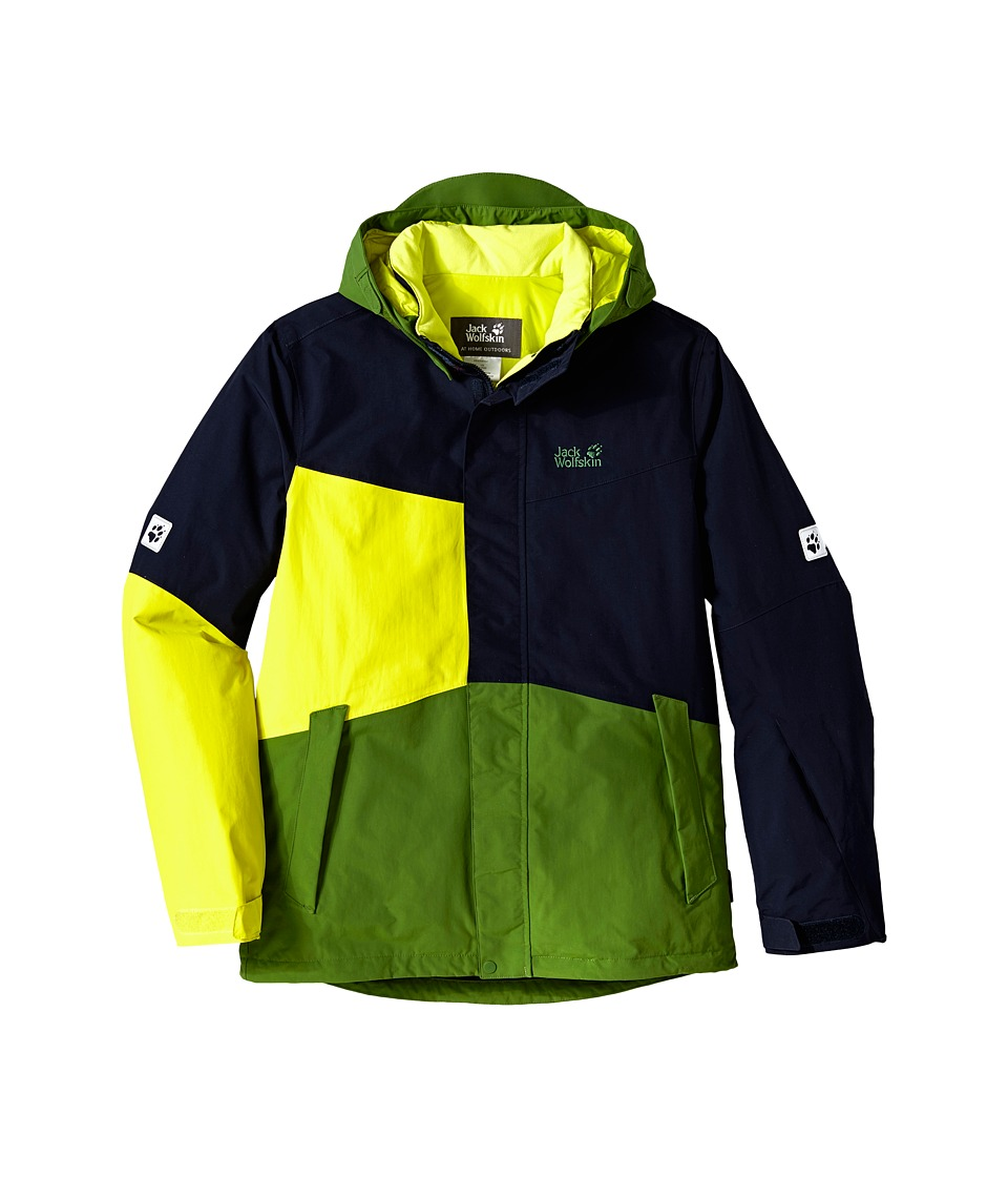 Jack Wolfskin Kids - Snow Ride Texapore Insulated (Infant/Toddler/Little Kid/Big Kid) (Night Blue) Boy's Coat