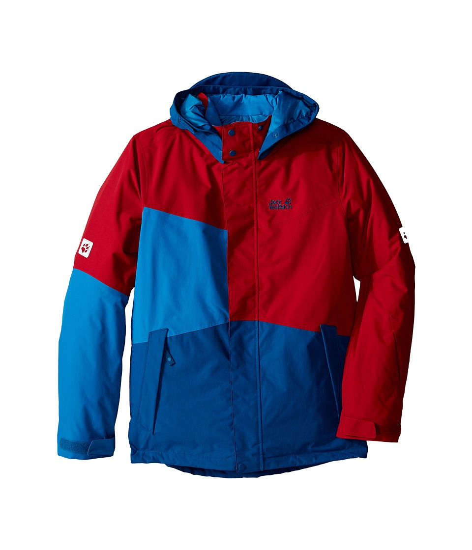 Jack Wolfskin Kids - Snow Ride Texapore Insulated (Infant/Toddler/Little Kid/Big Kid) (Indian Red) Boy's Coat