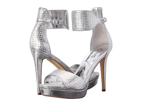 CARLOS by Carlos Santana - Nikola (Silver) High Heels