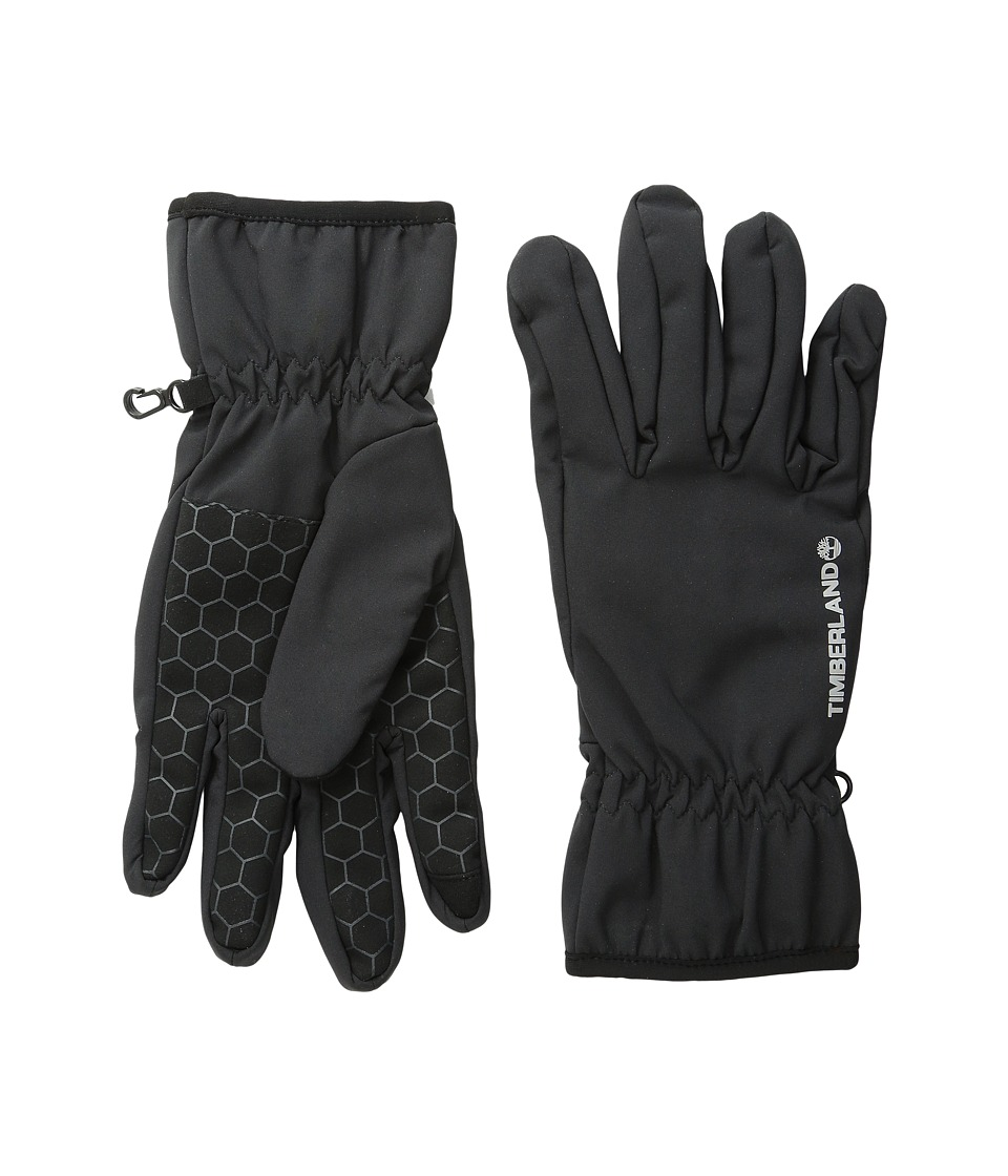 Timberland - Windproof Soft Shell Gloves (Black) Extreme Cold Weather Gloves
