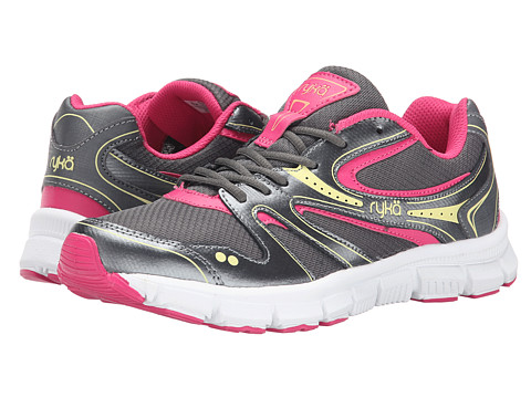 Ryka - Resolute SMT (Grey/Pink) Women's Shoes