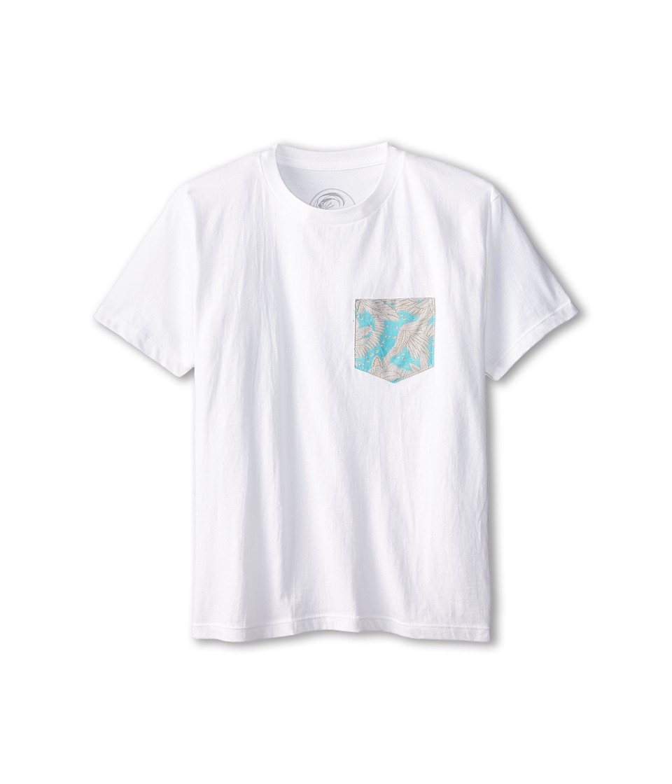 O'Neill Kids - Basement Tee (Big Kids) (White) Boy's T Shirt